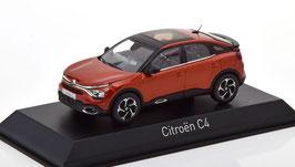 Citroën C4 III seit 2021 dunkelorange met. / schwarz