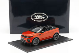 Range Rover Evoque Convertible 2016-2019 Phoenix orange met. / schwarz