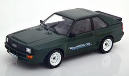 Audi Sport Quattro 1984-1985 dunkelgrün met. / mit Quattro Schriftzug