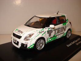 """Suzuki Swift Sport 2005-2010 """"Tein Version"""" RHD weiss / grün"""