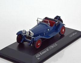 Alfa Romeo 6C 1750 G.S. 1929-1933 dunkel blau / rot