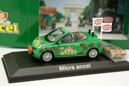 """Nissan Micra CC 2005-2009 """"Tour de France 2006 Ancel Dr. Oetker grün / Decor"""""""