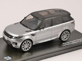 Range Rover Sport II seit 2014 silber met. / schwarz