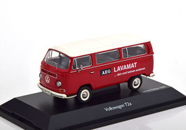 """VW T2a Bus L 1967-1971 """"AMG Lavamat rot / weiss"""""""