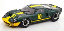 Ford GT40 MK I #61 24h Le Mans 1966 Jim Clark Performance dunkelgrün / gelb
