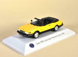 Saab 900 Cabriolet Monte Carlo 1991 gelb
