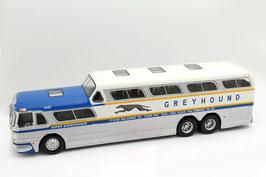 Greyhound Scenicruiser PD-4501 1954-1956  silber /weiss / blau / gelb