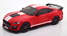 Ford Mustang Shelby GT500 Fast Track 2020 rot / weiss / schwarz