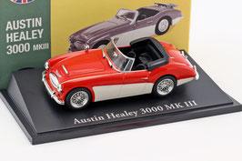 Austin Healey 3000 MK III 1964-1968 rot / weiss