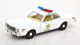 "Plymouth Fury 1975-1978 ""TV-Serie Dukes of Hazzard 1979-1985 weiss"""