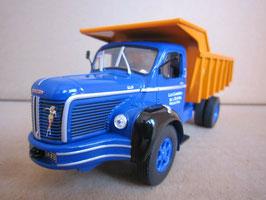 Berliet GLM 10 Muldenkipper 1953 blau / orange
