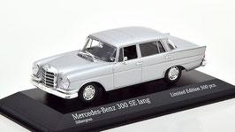Mercedes-Benz 300 SE lang W112 Heckflosse 1963-1965 Silbergrau met.