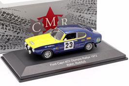 Ford Capri 2600 #23 Olympia Rallye ERC 1972 W. Röhrl / H. Rothfuss
