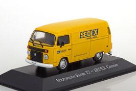 """VW T2c Lieferwagen 2006-2014 """"SEDEX Correios"""" gelb / blau"""