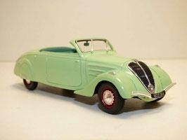 Peugeot 402 Eclipse 1936-1942 türkis