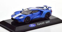 Ford GT seit 2017 blau met. / weiss
