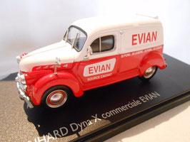 """Panhard Dyna X Lieferwagen 1945-1954 """"EVIAN"""" rot / weiss"""