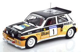 "Renault 5 Maxi Turbo #1 Rallye du Var 1986 A. Chatriot /O. Périn ""Diac Gr. B"""