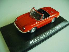 Seat 850 Sport Spider 1968-1973 rot