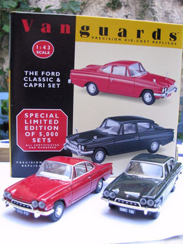 Ford Consul Classic Sedan 1961-1963 / Ford  Consul Capri Coupé 1961-1964 black / red