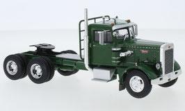Peterbilt 281 LKW Zugmaschine 1954-1976 dunkelgrün / silber