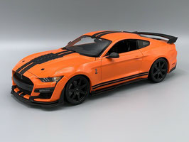 Ford Mustang Shelby GT500 2020 orange / matt-schwarz