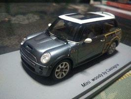 Mini Clubman Woody By Castagna Concept Car 2004 grau met. / weiss / Holz