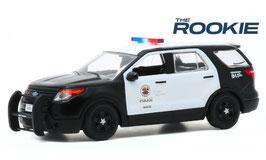"""Ford Explorer Interceptor 2013 """"LADP TV-Serie Rookie seit 2018"""" schwarz / weiss"""