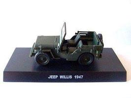 Jeep Willys offen 1947 matt-oliv