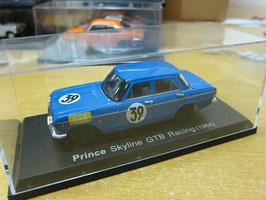 Prince Skyline GTB #39 Racing 1964 blau