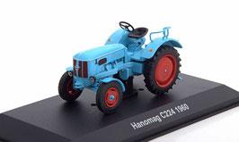 Hanomag C224 Traktor 1960 hellblau / rot