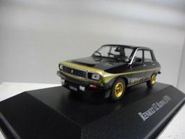 Renault 12 Alpine 1978 schwarz / gold