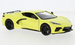 Chevrolet Corvette C8 Stingray seit 2020 gelb / schwarz