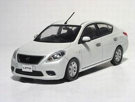 Nissan Latio Phase I 2011-2015 RHD weiss