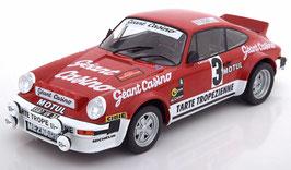Porsche 911 SC Gruppe 4 #3 Sieger Rally D Amor 1979 Beguin / Lenne rot / weiss