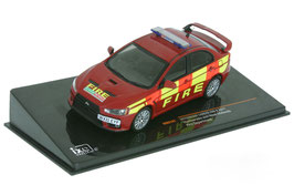 "Mitsubishi Lancer EVO X ""Humberside and West Midlands Fire Department 2011 rot / gelb"""