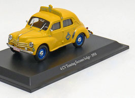 "Renault 4CV Berline ""Touring Secours Belge"" 1958 gelb"