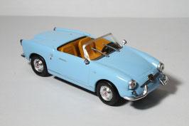 Abarth 750 Spider Allemano 1958 hellblau