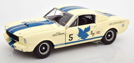 Ford Mustang Shelby GT350R #5 Canadian Champion 1965 weiss / blau
