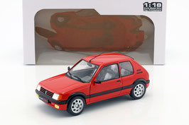 Peugeot 205 GTI 1.9 Phase I 1986-1990 rot