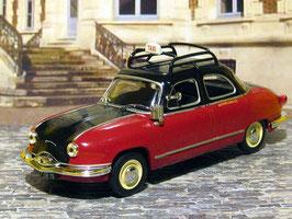 Panhard Dyna Z TAXI Paris 1959 dunkelrot /schwarz
