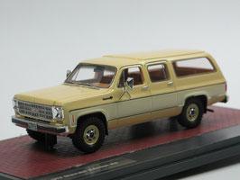 Chevrolet Suburban K10 1978 beige / weiss