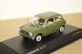 Autobianchi A112 Phase I 1969-1973 grün