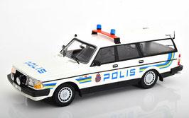 "Volvo 240 GL Break 1986 ""Polis Sweden weiss / gelb / blau"""