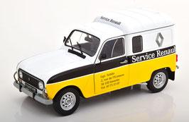 """Renault 4LF4 Lieferwagen 1975 """"Service Renault weiss / gelb / schwarz"""""""