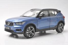 Volvo XC40 seit 2018 blau met. / schwarz