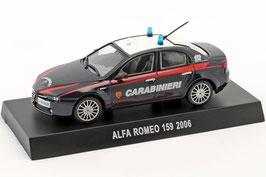 "Alfa Romeo 159 Berlina ""Carabinieri 2005-2011 dunkelblau / weiss"