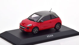Opel Adam 2012-2019 Feuer rot met. / Lichtgrau met.