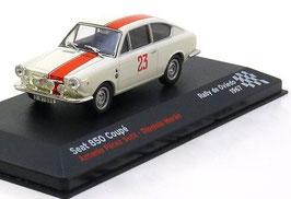 Seat 850 Coupé #23 Rallye de Ovideo 1967 Sutil / Moran