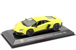Lamborghini Aventador LP 720-4 50th Anniversary 2013 gelb / schwarz